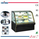 Hot Sale Double Arc Curved Glass and Marble Cake Counter / Cake Showcase