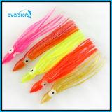 Attrait doux de pêche de palan de pêche d'attrait d'OEM ou de poulpe en gros de Wh0012 12cm/4.1g