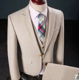 高品質は人のためのトリムの適当なあつらえのスーツをカスタム設計する