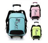 Bolso lindo Sh-16042728 de la carretilla del bolso de escuela de los niños de la historieta