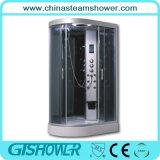 曲げられた浴室の蒸気のシャワーの単位(GT0532R)