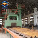 チンタオAntaiのローラーコンベヤーの鋼鉄構造ショットブラストの機械装置