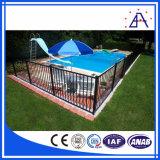 Comme l'2047 clôture de piscine standard en aluminium/aluminium Clôtures de jardin