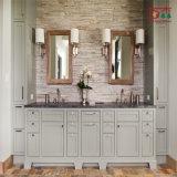 Nordamerika-Art-moderner fester hölzerner Badezimmer-Eitelkeits-Schrank