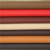 Matériau antidéflagrant imperméable à la décoloration de qualité supérieure Matériau en cuir synthétique