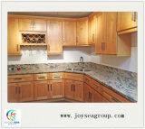 Governo standard americano poco costoso di legno solido degli armadi da cucina fatto in Cina