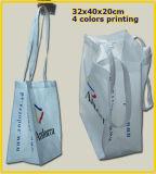 Sacos não tecidos reusáveis da LY em cores diferentes