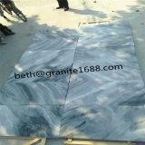 자연적인 흐린 회색 대리석 자연적인 밝은 파란색 대리석