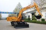 12 toneladas rodaron venta caliente del excavador excavador rodado 12 toneladas