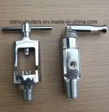 ガスの伝達システムのためのガス弁のアダプター