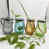 Jarrón de cristal de la suspensión de Arte de vidrio para la decoración del hogar
