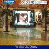 Venta caliente P6 RGB de interior que hace publicidad del panel de visualización de LED