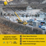 20X35m elevados uma barraca do evento do quadro com telhado desobstruído e as paredes de vidro (hy008b)