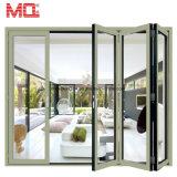Porte de pliage en verre extérieure en aluminium en gros de la Chine à vendre la porte Bifold