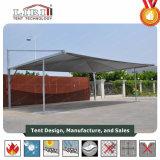 5.5X5.5m de Tent van Carport van het Staal voor Parkeerterrein en Parkeerterrein