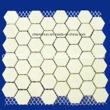 Alúmina mosaico del azulejo del palo en el Libro