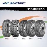 China marca superior do pneu 315/80R22.5, 385/65R22.5, 13R22.5, 295/75R22.5, 315/70R22.5 e 1200R24 com alto desempenho