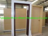 Perfil de madeira da cavidade da porta do plástico WPC que faz a máquina