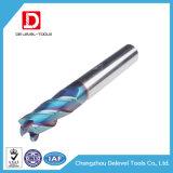 Высокая точность 4 флейта карбида вольфрама квадратный конец мельница производителя
