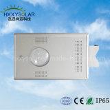 10W-100W alle in einer Solar-LED-Straßenbeleuchtung mit Sonnenkollektor-, Controller-und Batterie-integrierter Solargarten-Beleuchtung