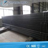 Tube rectangulaire d'acier galvanisé par Tyt de pipe en acier de structure de Tianjin