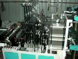 Zeile 8 zwei Schicht-Shirt-Beutel-kalter Ausschnitt-Beutel-Maschine