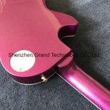 자주색 (GLP-506)에 있는 단풍나무 바디 주문 Lp 작풍 청각적인 일렉트릭 기타