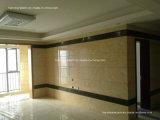 De decoratieve AcrylComités van de Muur, Faux Witte Marmeren Bladen, Geen Kunstmatige Steen van Bacteriën