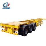 Aotong 20FT/40FT Skeleton Behälter-halb Schlussteil-/Behälter-Chassis für Verkauf