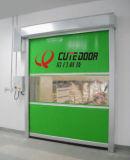 Двери штарки PVC поставщиков Китая завальцовка высокоскоростной электрическая быстрая вверх по двери