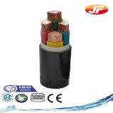 PVC проводника 0.6/1 Kv силовой кабель медного изолированный и обшитый