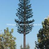 電流を通された鋼管の自己サポートの木タワー