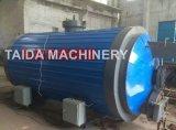 Borracha regenerada Devulcanization Dessulfuração de aquecimento eléctrico do óleo da caixa de saída do tanque