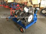 Dn90-315mm HDPE стыковой сварки Fusion машины с помощью тележки