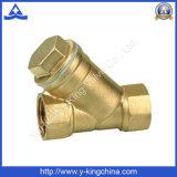 Válvula de bronze do filtro da água Y do forjamento (YD-3005)