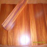 Neue Innenauslegung glatter Iroko festes Holz-Bodenbelag