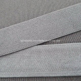 Het Geweven Elastiek van de Pluche van de Kleur van de douane terug dat van Nylon Spandex wordt gemaakt