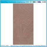 madera contrachapada de la piel de la puerta de la talla 3X7 de 1.7m m 2m m 2.7m m con la chapa de Okoume