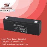 Tipo profundo bateria 12V 2.3ah do AGM do ciclo de VRLA para o sistema de alarme