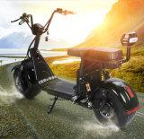 Самокат самоката 1500W Citycoco Harley двойной съемной батареи Citycoco покрышки Ce 18*9.5 электрический