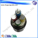 LV/Optical Fiber 또는 Lszh/프레임 지연제 /Sta/XLPE/PE Sheathed/Electric Power Cable