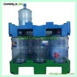 Apilable de plástico bandeja de la botella de agua potable para el transporte