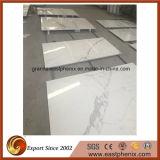 Calacatta белой мраморной плиткой из камня для монтажа на стену оформление
