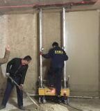 Четыре типа инженеров и подрядчики стены штукатурку делают машины