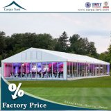 Merchandising를 위한 Integrated Cassette Floor를 가진 우수한 Outdoor Clear Glass Wall VIP Marquee Big Event Tent