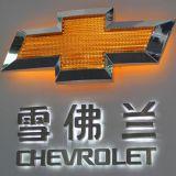 Acryl-LED-Fahrzeug-Firmenzeichen-3D Backlit Auto-Emblem