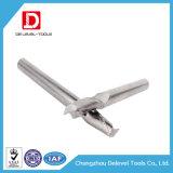 HRC45/55/60/65 molino de extremo del carburo de la flauta de la alta precisión 2 para el acero del molde