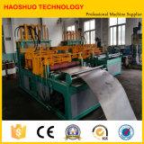 Ailette ondulée formant la machine, matériel pour le transformateur