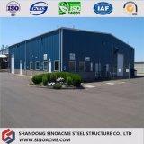 Edificio/costruzione/magazzino d'acciaio prefabbricati africani con il pannello a sandwich di ENV