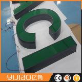 Beaux signes en plastique acryliques de mémoire de lettres de Frontlit 3D